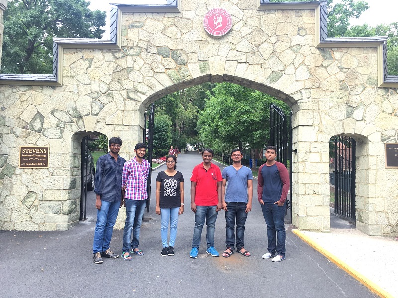 Internship at Stevens Institute of Technology, USA
