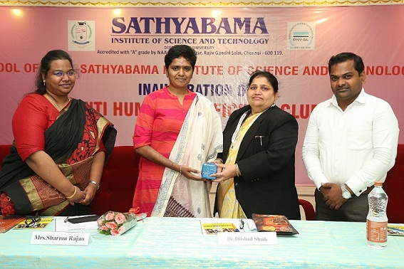 Anti- Human Trafficking Club Inauguration  17th September 2019