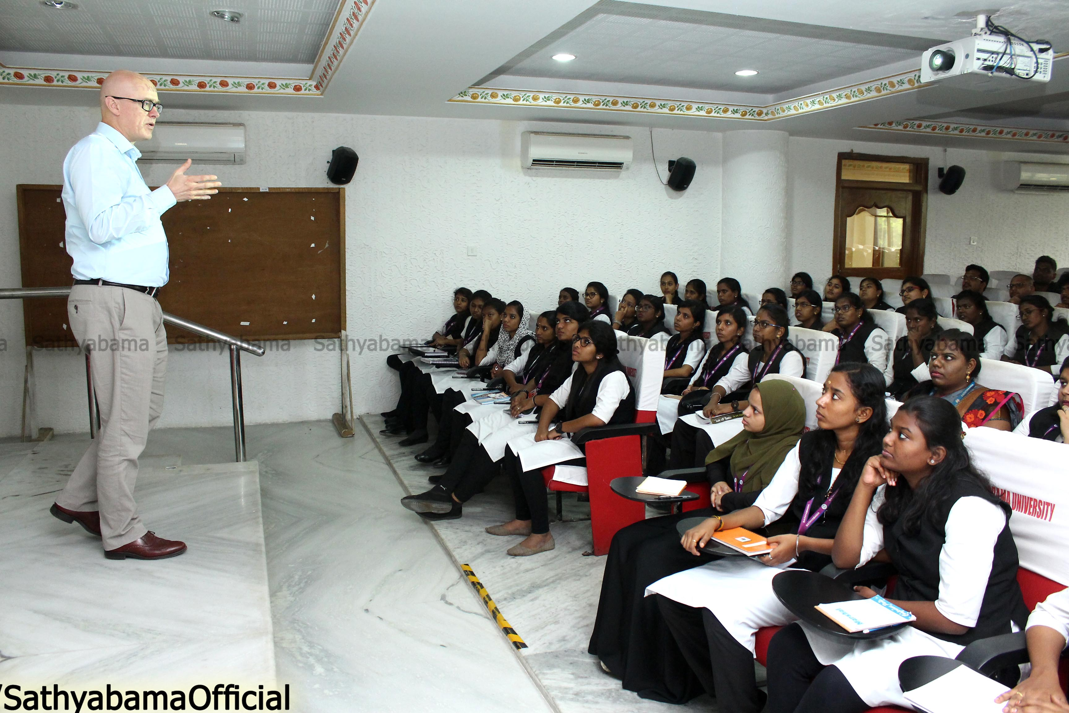 Interactive session on Higher Studies