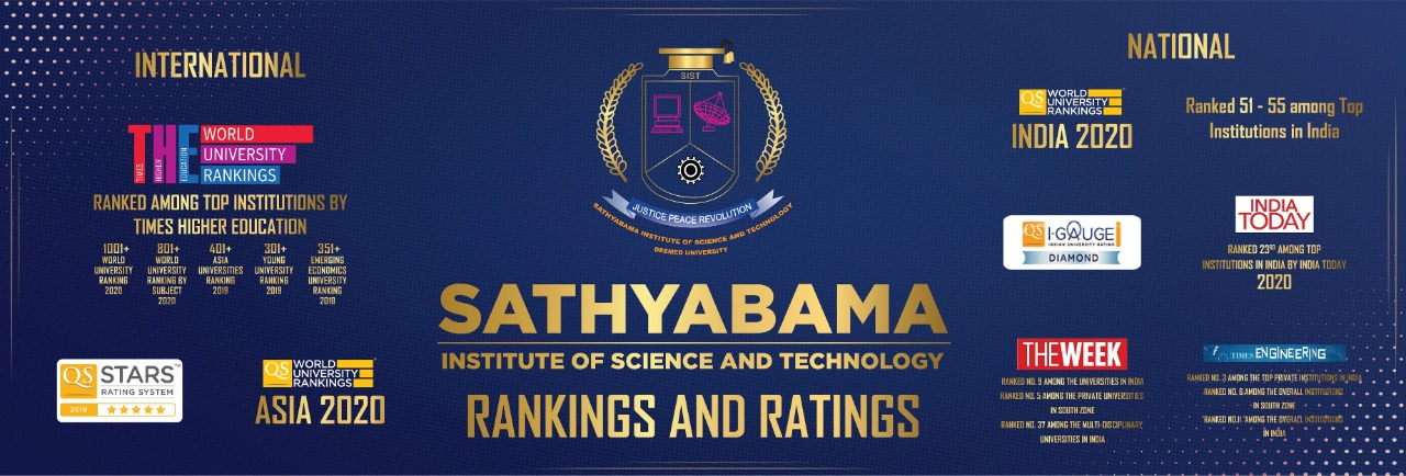 SATHYABAMA DEEMED TO BE UNIVERSITY accreditation and accolades